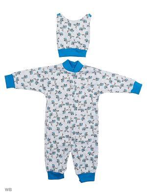 Костюмы Babycollection. Цвет: голубой, темно-синий, лазурный