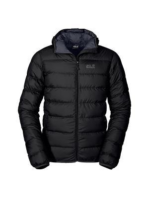 Куртка HELIUM MEN Jack Wolfskin. Цвет: черный