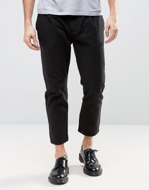 Rollas Черные брюки карго Stubs. Цвет: черный