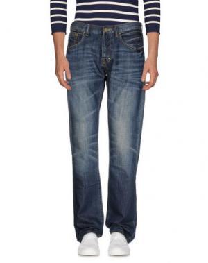 Джинсовые брюки PRPS. Цвет: синий