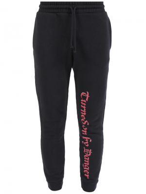 Спортивные брюки Vetements. Цвет: чёрный