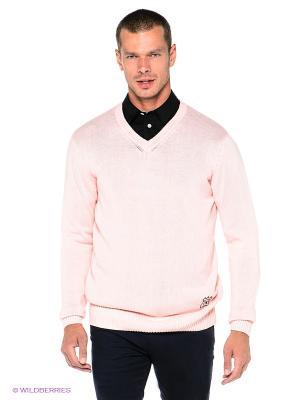 Пуловер The Philippines. Цвет: бледно-розовый
