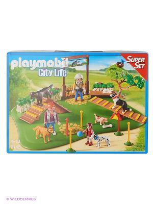 Супер набор: Дрессировка собак Playmobil. Цвет: зеленый