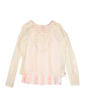 Блузка SCOTCH R'BELLE. Цвет: бежевый