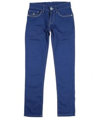Повседневные брюки NOLITA POCKET. Цвет: пастельно-синий