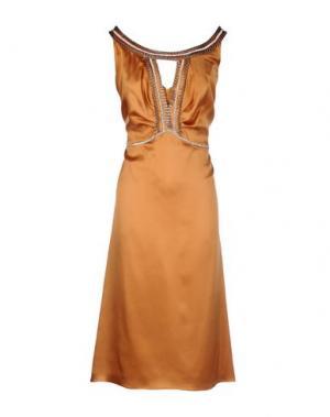 Платье длиной 3/4 CAILAN'D. Цвет: верблюжий