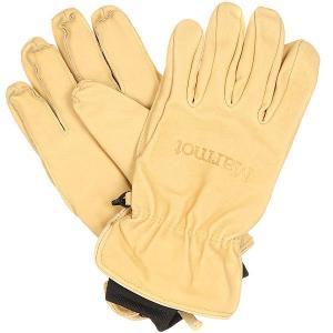 Перчатки сноубордические  Basic Ski Glove Tan Marmot. Цвет: бежевый