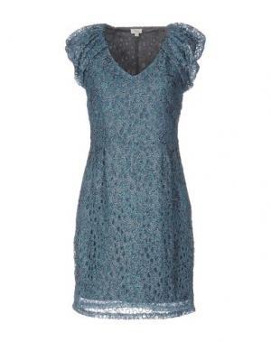 Короткое платье INTROPIA. Цвет: зеленый