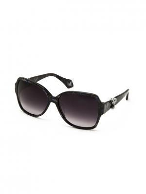 Солнцезащитные очки VW 909S 03 Vivienne Westwood. Цвет: синий