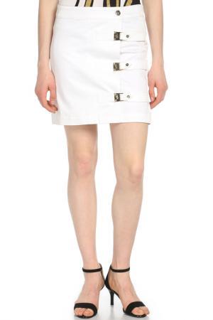 Юбка Versace. Цвет: белый