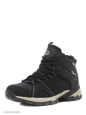Мембранная обувь Ascot. Цвет: черный, белый