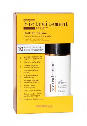 BB-крем для волос многофункциональный Brelil Professional. Цвет: желтый
