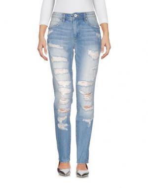 Джинсовые брюки FRACOMINA. Цвет: синий