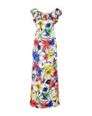 Длинное платье BOUTIQUE MOSCHINO. Цвет: красный
