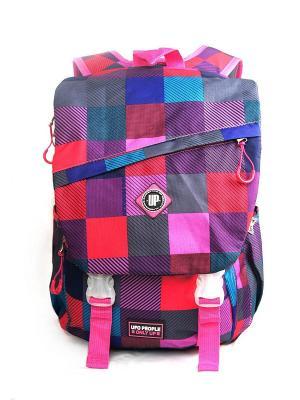 Рюкзак UFO PEOPLE. Цвет: розовый, фиолетовый, красный