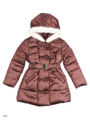 Пальто Senso kids. Цвет: коричневый