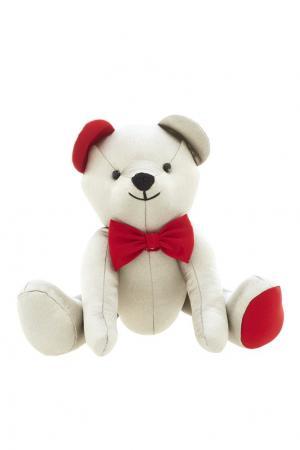 Игрушка «Серебряный мишка» Argent-ЗНАК. Цвет: серый