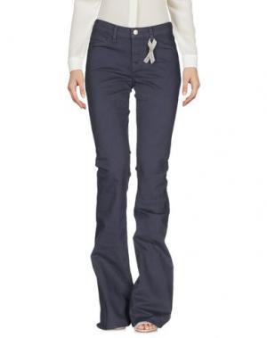 Повседневные брюки J BRAND. Цвет: грифельно-синий