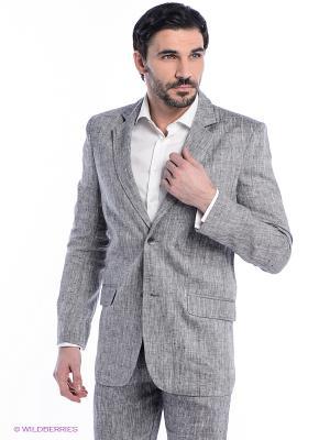 Пиджак Berkytt. Цвет: серый