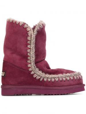 Ботинки Eskimo Mou. Цвет: красный