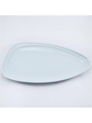 Блюдо овальное 18*32,5см.  Муд Белое Royal Porcelain. Цвет: белый