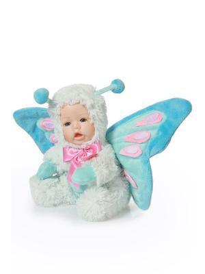 Кукла интерьерная Бабочка DAVANA. Цвет: голубой, розовый, белый