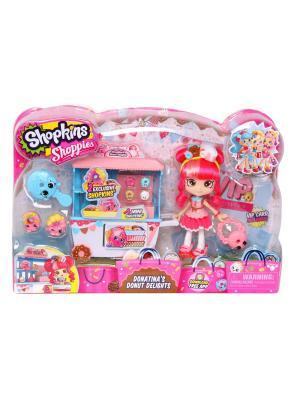 Игровой набор Shopkins Пончик Счастья Донатины Moose. Цвет: розовый