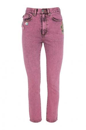 Укороченные джинсы Marc Jacobs. Цвет: фуксия
