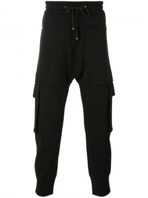 Спортивные штаны с карманами Helmut Lang. Цвет: чёрный