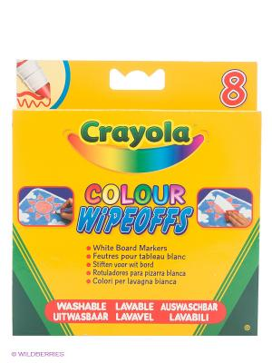 Фломастеры  для белой доски цвета радуги Crayola. Цвет: желтый, зеленый