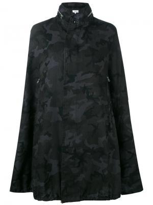 Кейп с камуфляжным принтом Vis A. Цвет: чёрный