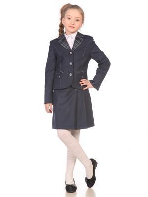 Пиджак UniStyle. Цвет: серый, синий