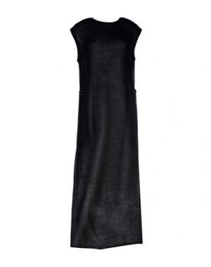 Длинное платье DAMIR DOMA. Цвет: черный