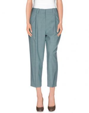 Повседневные брюки JONATHAN SAUNDERS. Цвет: светло-зеленый
