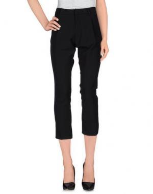 Повседневные брюки TO-MAY. Цвет: черный