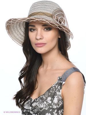 Шляпа Shapkoff. Цвет: коричневый, молочный