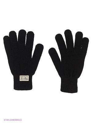 Перчатки Oodji. Цвет: черный, антрацитовый, темно-зеленый