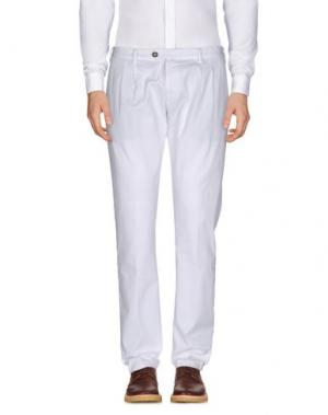Повседневные брюки EREDI RIDELLI. Цвет: белый