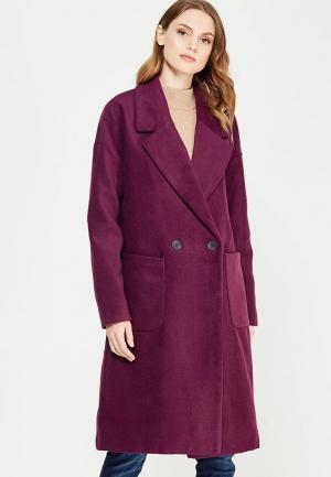 Пальто Jacqueline de Yong. Цвет: фиолетовый