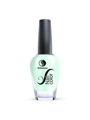 Лак для ногтей Тон JC04 Мятный синий SOLOMEYA. Цвет: светло-голубой