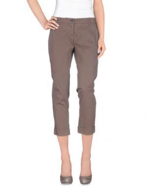 Повседневные брюки BRUNO MANETTI. Цвет: хаки