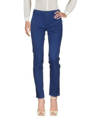 Повседневные брюки SEVEN7. Цвет: синий