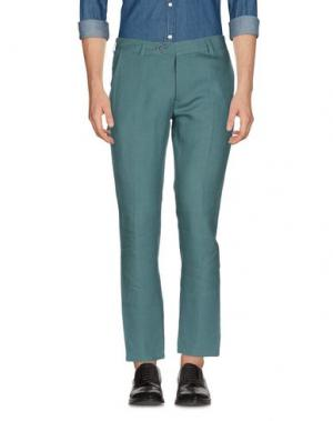 Повседневные брюки 26.7 TWENTYSIXSEVEN. Цвет: зеленый