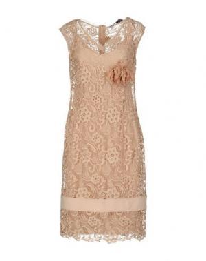 Платье до колена 22 MAGGIO by MARIA GRAZIA SEVERI. Цвет: телесный