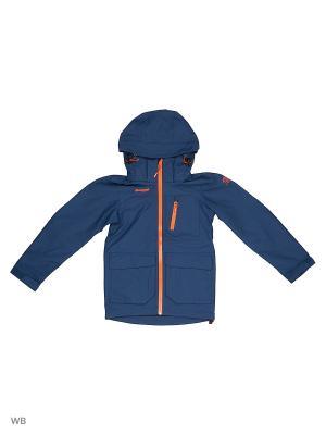 Куртка Bergans. Цвет: серо-голубой
