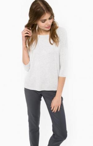 Серый джемпер из вискозы MORE &. Цвет: серый