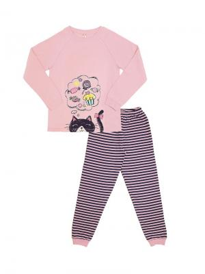 Пижама Cherubino. Цвет: бледно-розовый