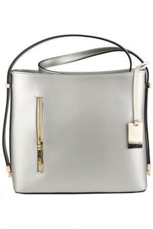 Bag MATILDA ITALY. Цвет: silver
