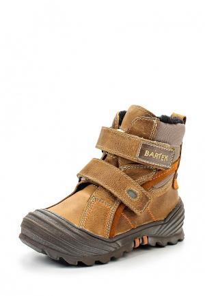 Ботинки Bartek. Цвет: коричневый