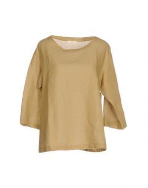 Блузка ZHELDA. Цвет: хаки